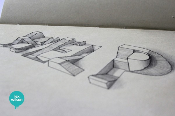 3D Typography by Lex Wilson (7)