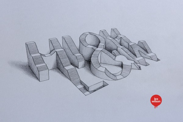 3D Typography by Lex Wilson (8)