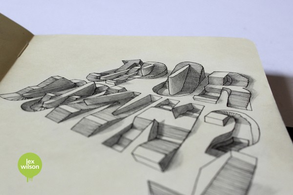 3D Typography by Lex Wilson (9)