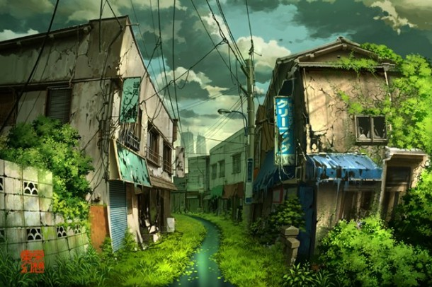 Post apocalyptic Tokyo by Tokyogenso