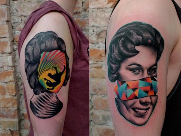 Cool tattoos by Mariusz Trubisz