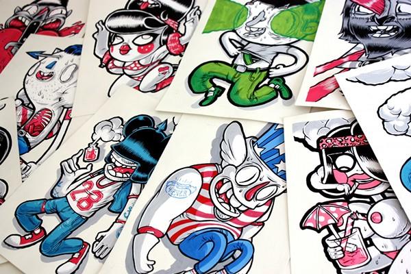 Niklas Coskan's illustrations