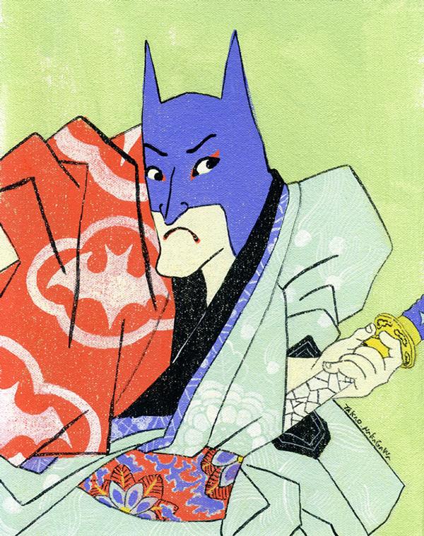 Ukiyoe Character series by Takao Nakagawa