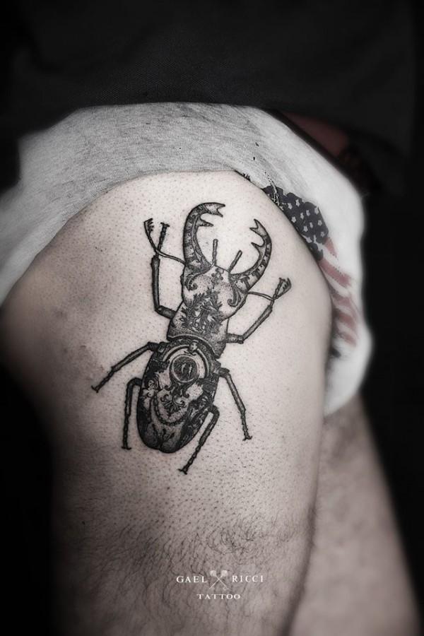 Amazing tattoos by Gaël Ricci (1)