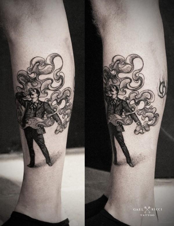 Amazing tattoos by Gaël Ricci (3)