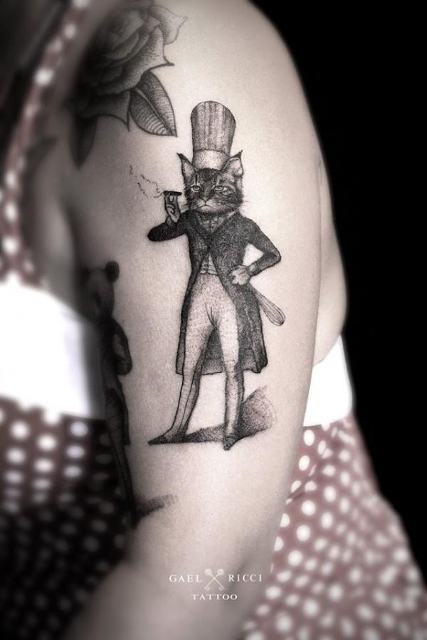 Amazing tattoos by Gaël Ricci (5)
