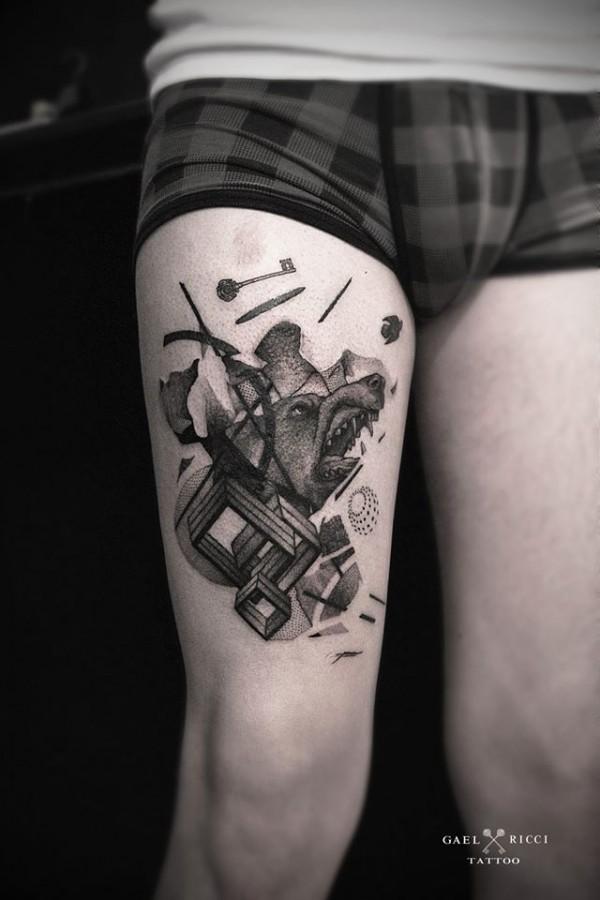 Amazing tattoos by Gaël Ricci (8)