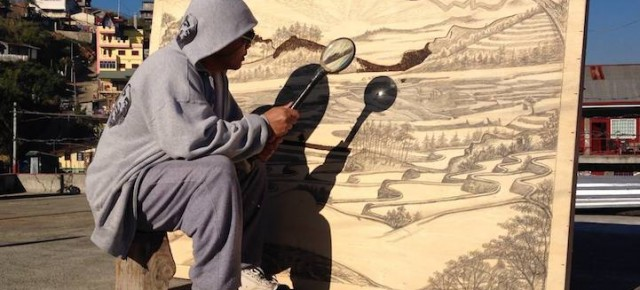 Painting With The Sun - Pyrography Drawings by Jordan Mang-osanPainting With The Sun - Pyrography Drawings by Jordan Mang-osan