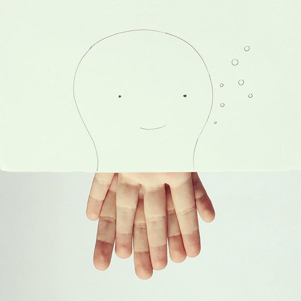 Finger illustrations by Javier Pérez.koikoikoi (1)