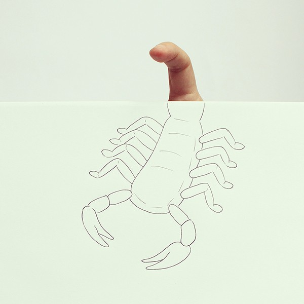 Finger illustrations by Javier Pérez.koikoikoi (4)