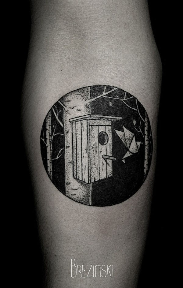 Stunning dotwork tattoos by Brezinski Ilya (3)