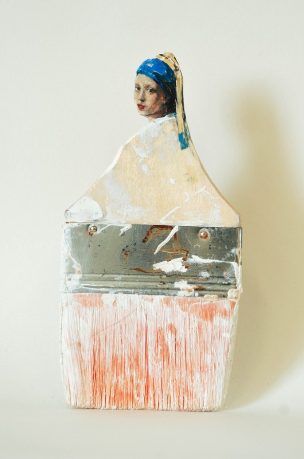 Paintbrush Portraits by Rebecca Szeto