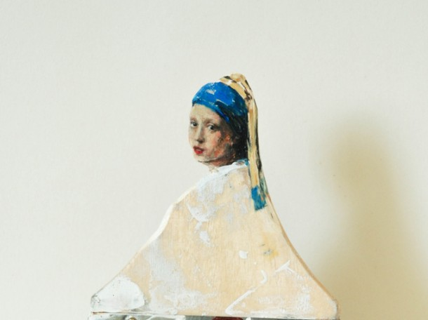Paintbrush Portraits by Rebecca Szeto