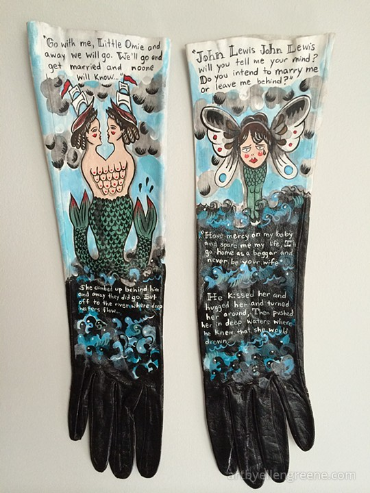 Tattooed Gloves by Ellen Greene (2)