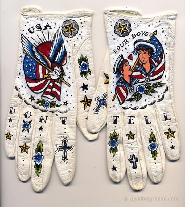 Tattooed Gloves by Ellen Greene (7)