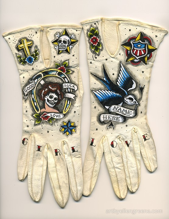 Tattooed Gloves by Ellen Greene (9)