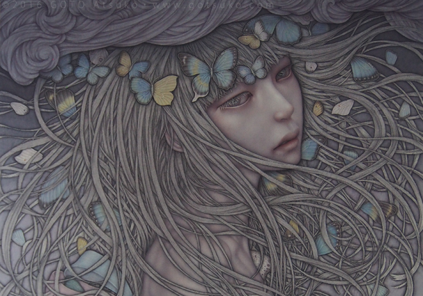 The incredible and elegant artworks of Atsuko GOTO